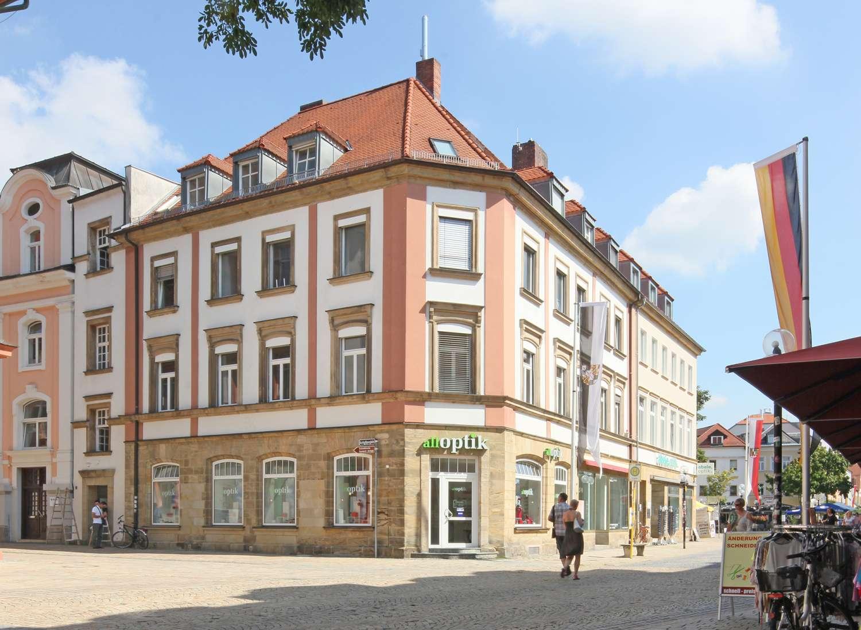 Kernsanierte 2-Zimmer-WG-Citywohnung mit hochwertiger Ausstattung, Bestlage direkt am Marktplatz! in City (Bayreuth)