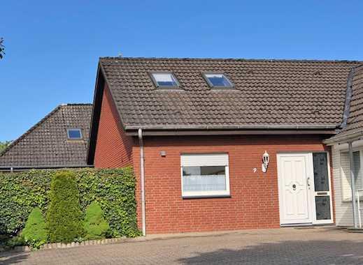 Gepflegte 4 Zimmer-Wohnung mit Einbauküche, Südterrasse und Pkw-Stellplatz in Bad Oeynhausen - Dehme