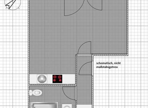 kleine 1 Zimmer DG-Wohnung sucht Nachmieter/in