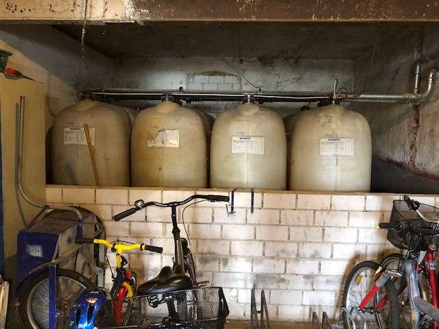 Tank für Hinterhaus