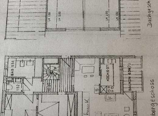 Von Privat 5 Zimmer Maisonette Wohnung in schöner Lage von Bad Tölz zu verkaufen