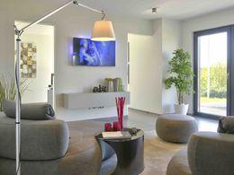 Wohnzimmer/AZ Musterhaus