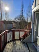 Bild **funktionale 2-Zimmer-Wohnung mit Süd-Balkon** ideal für junge Pärchen