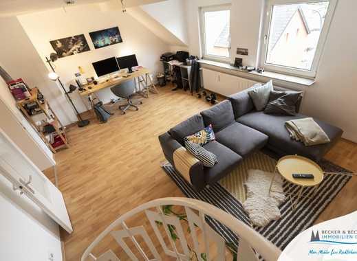 Moderne Maisonettewohnung mit Balkon im Zentrum von Dünnwald!