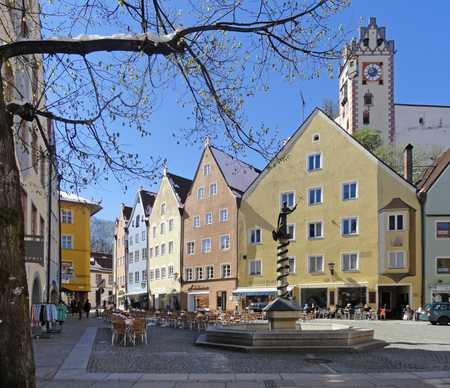 Für Liebhaber modernen Wohnens mit historischem Charme in Füssen
