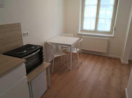 Möblierte 2-Zimmer-Wohnung mit Küche im Zentrum in Augsburg-Innenstadt