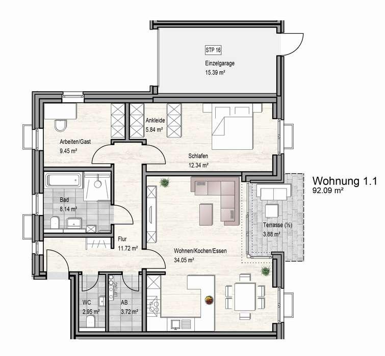 EG Haus 1 Wg 1