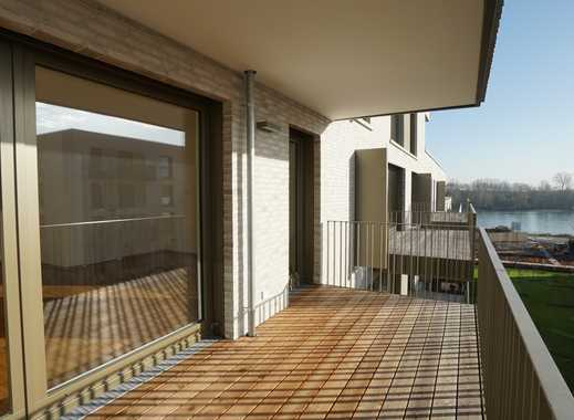 Wohnen am Fluss- 3-Zimmer-Neubauwohnung mit Balkon und TG-Stellplatz