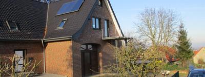 Neuwertige 4-Zimmer-Dachgeschosswohnung mit Balkon in Lübbecke/Gehlenbeck