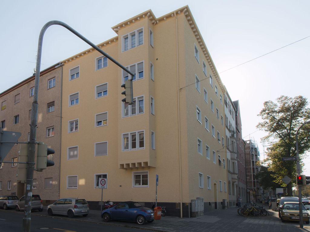 attraktiv sanierte Fassade