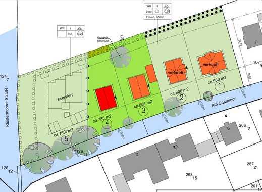 723 m² großes Baugrundstück in idyllischer Lage von Lilienthal