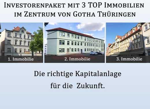 TOP Rendite: Investorenpaket mit 3 MFH im Zentrum von Gotha