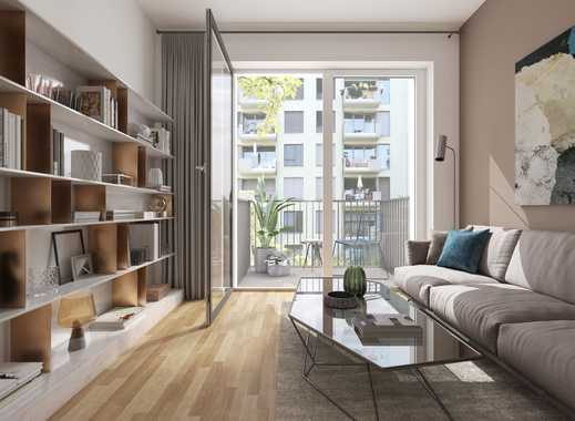 3 Höfe - Apartment mit großer Terrasse am Park am Gleisdreieck