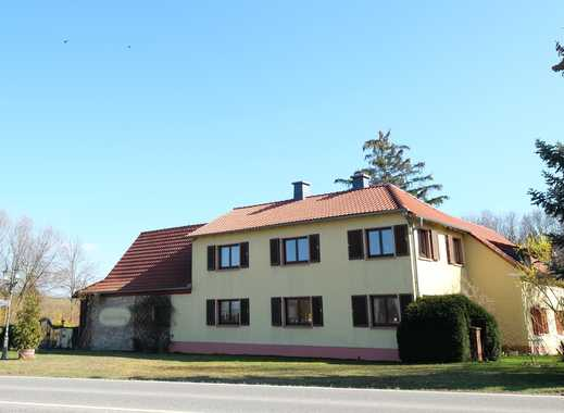 Leben + Arbeiten: ehemalige Mühle mit EFH (6ZKB, WC, 178 qm), Werkstatt, Scheune, 77-qm-Haus...