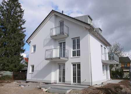 Neubau-Maisonettewohnung in 2-Familien-Haus mit Garten in ruhiger Lage in Hohenbrunn (München)