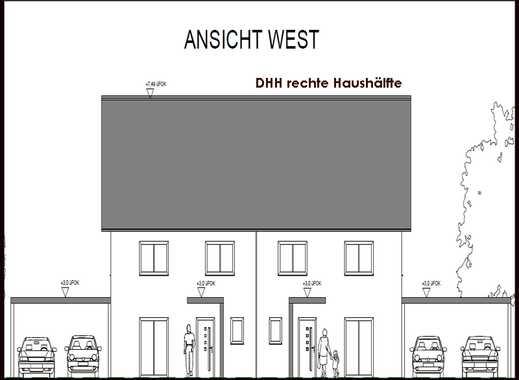 Großzügige DHH -rechts, zentral gelegen mit Keller KfW 55 standard, Baugenhemigung erteilt !!
