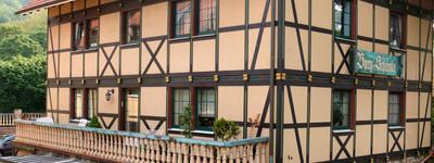 Balkonblick Wilhelm Zentrum Hausberge Auf dem Burggelände