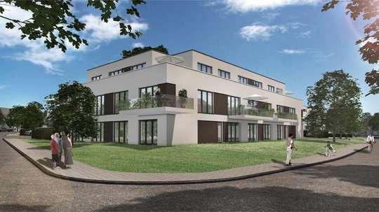 hwg Plus - Wir bauen für Sie! Barrierefreie 2-Zimmer Wohnung mit Dusche und Balkon!