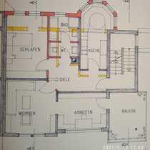 Modernisierte 3-Zimmer-Wohnung mit Balkon in