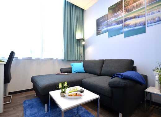Erstbezug! Vollausgestattetes 1-Zimmer-Apartment auf Zeit im Offenbacher Zentrum nahe Marktplatz