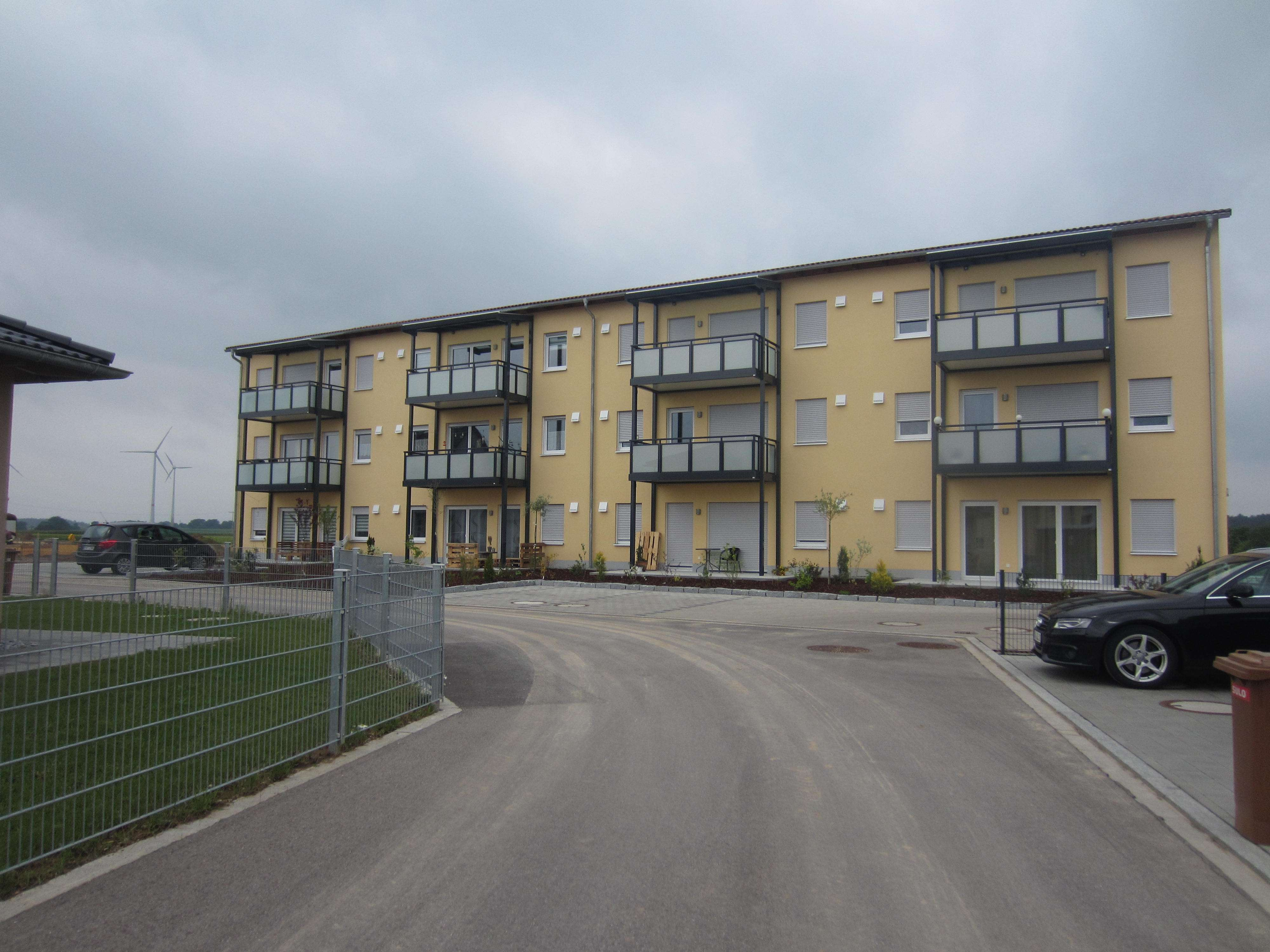 Schöne, geräumige drei Zimmer Wohnung in Wolframs-Eschenbach in absolut ruhiger Lage in