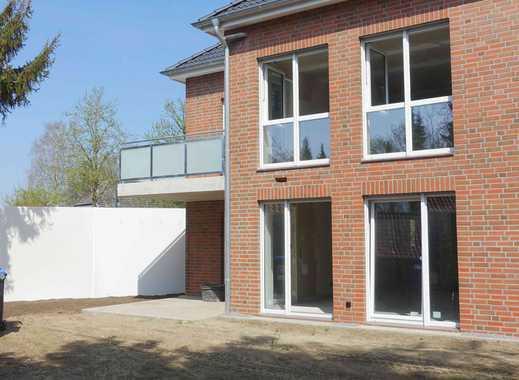 - Neubau – 3- Zimmer-Erdgeschosswohnung mit Terrasse und Garten in Hellendorf