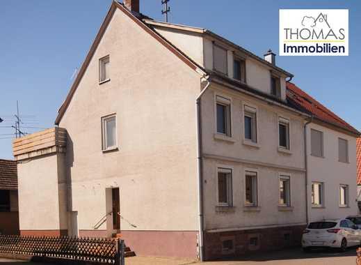 Mit handwerklichem Geschick ins Wohnglück!  ***großzügiges Wohnhaus mit Nebengebäude***