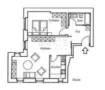 Sanierte Altbau Wohnung in Gründerzeitvilla