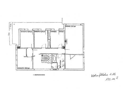 Sanierte 5-Zimmer-Wohnung mit Balkon und Einbauküche in Weil am Rhein