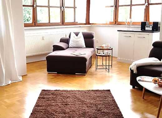 Modern möbliert und lichtdurchflutet! 3-Zimmer-Wohnung mit Balkon und Parkplatz zu vermieten
