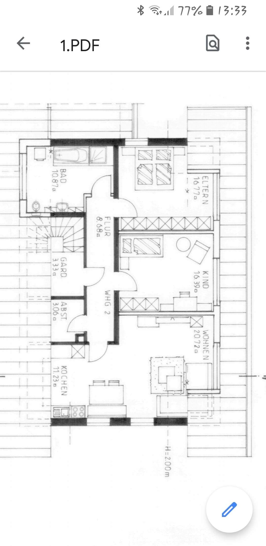 Attraktive, neuwertige 3-Zimmer-Wohnung in Hunderdorf in