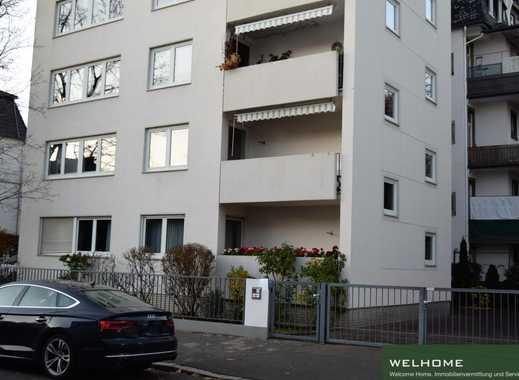 Erstbezug nach Neusanierung im ruhigen Holzhausenviertel: Etagenwohnung mit 4,5 Zimmer und 2 Balkone