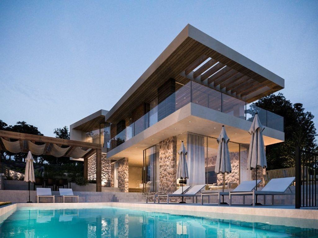 Moderner Stil und Eleganz vereint - Luxus Villa in Krk