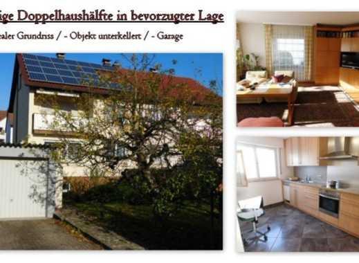 Sonnige Doppelhaushälfte in bevorzugter Wohnlage ~ Das Ideale Familiendomizil