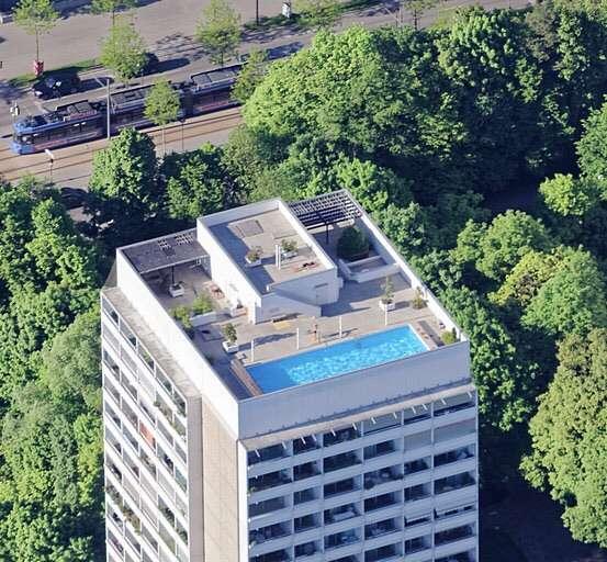 2 Zimmer Wohnung voll möbliert mit traumhaften Ausblick in Bogenhausen (München)