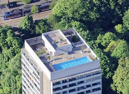 Möbliert: Schöne Möblierte 2-Zimmer Wohnung mit Pool in München Bogenhausen