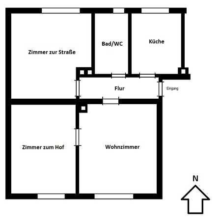 Schöne 3-Zimmer-Wohnung nahe Rosenheim in Stephanskirchen