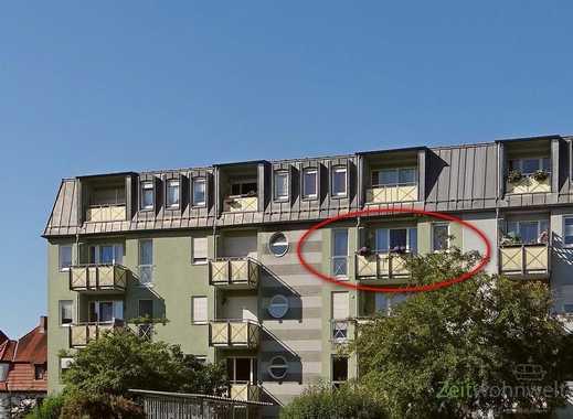 MGN: helle 2-Raum-Wohnung mit Balkon zum ruhigen Innenhof, Aufzug, TV und Hausmeisterdienste inkl...