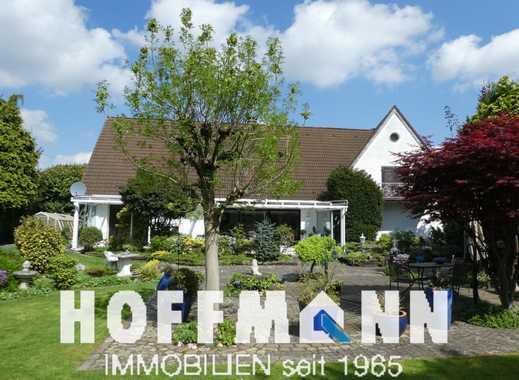 DU-Baerl: Moderne Romantik - weiße Villa mit imponierendem Wohnbereich
