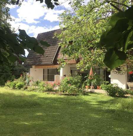 Freundliche, helle 2-Zimmer-EG-Wohnung mit neuer EBK und Terrasse in Buchenhain in Baierbrunn