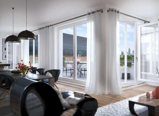 !Baustellenbesichtigung Samstag 10 – 12 Uhr! Stilvolle 4-Zimmer-Penthousewohnung mit Dachterrasse