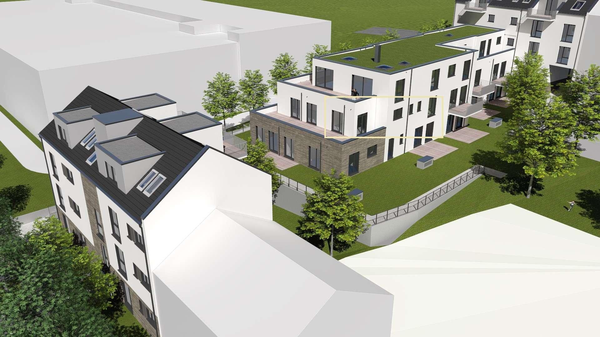 Erstbezug: exklusive 2-Zimmer-Terrassenwohnung mit EBK und Stellplatz in