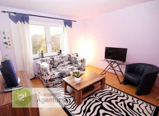 Möblierte 3-Zimmer-Wohnung mit Balkon u. Internet, Düsseldorf-Derendorf, Mauerstr.