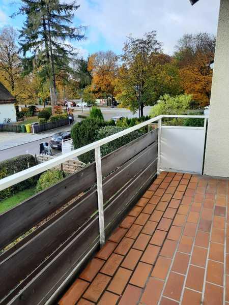 Wohnen im schönen Isartal! 3,5 Zimmer mit Balkon in Pullach im Isartal