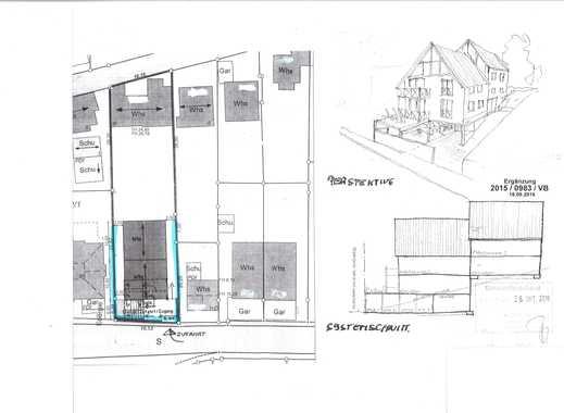 RESERVIERT! Grundstück für Doppelhaus- Bebauung mit 4 Wohneinheiten!