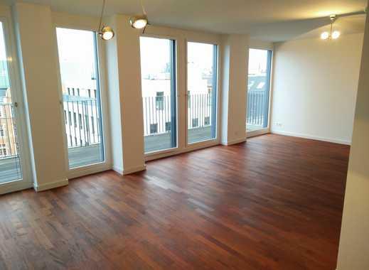 Exklusiv in MITTE - 3 Zimmer, 6. OG, Terrasse, Concierge, Schwimmbad, Sauna, Fitness, Tiefgarage