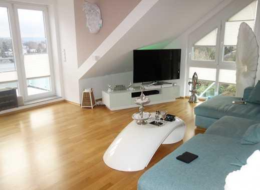 Moderne 3 ZKB-Dachgeschosswohnung mit 2 Balkonen in Top Lage von Eltville am Rhein zu vermieten