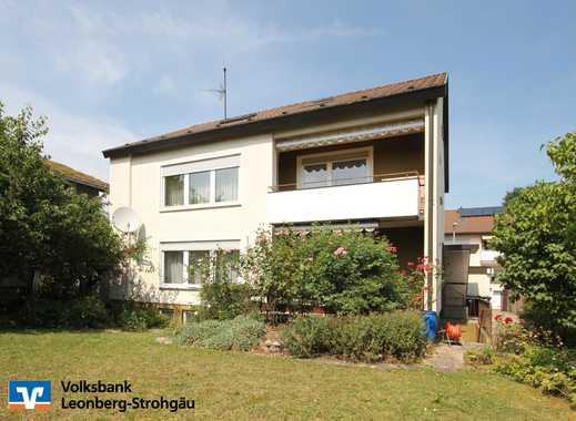 *** Mehrfamilienhaus mit schönem Garten in Leonberg-Ramtel! ***