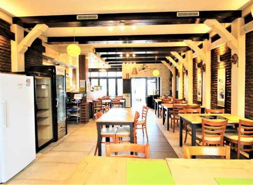 Benrath/Forststr.: Komplett eingerichtes Restaurant mit 2 Terrassen zu vermieten