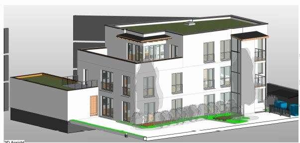 1 Zimmer Appartement - Gesund und nachhaltig wohnen mit Holz in Haidhausen (München)